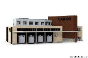 Cargo Building with Interior