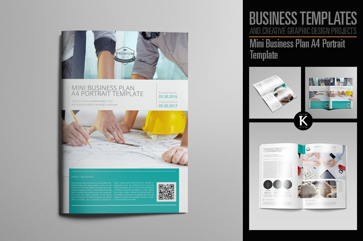 Business Plan Executive Summary Templates Creative Market - Business plan design template