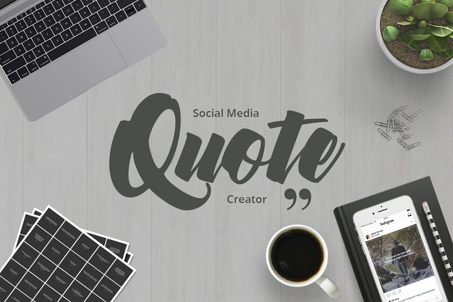 Social Media Quote Creator in Social Media Templates - product preview 8