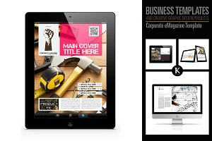 Corporate eMagazine Template