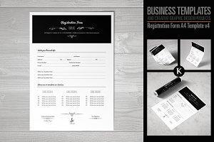Registration Form Template v4