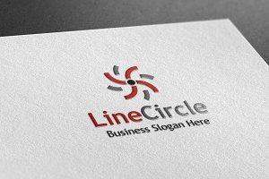 Line Circle Style Logo