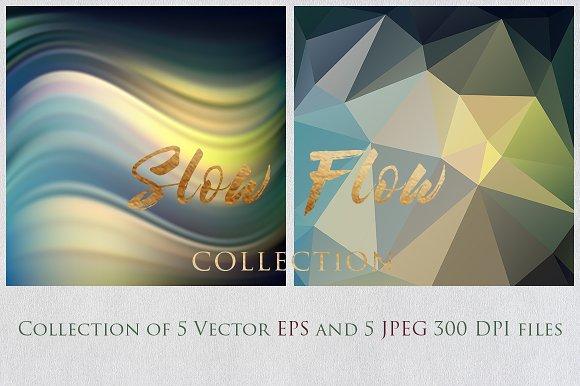 SLOW FLOW 6 Collection Textures Set