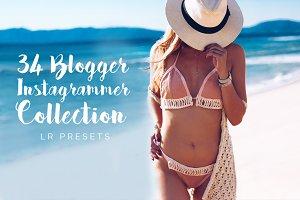 34 Blogger Instagrammer LR Presets