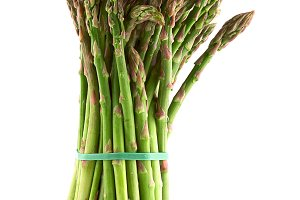 A bunch of delicious asparagus