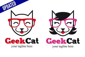Geek Cat - Male & Female
