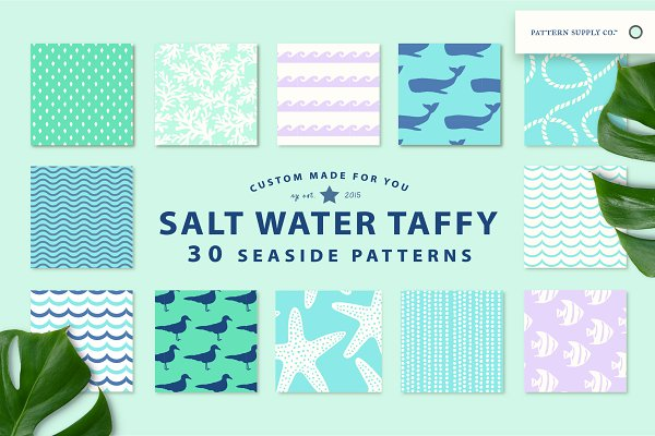 Summer Patterns - SALTWATER TAFFY