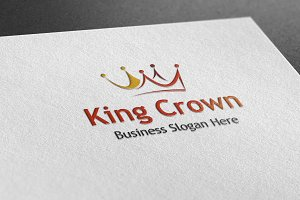 King Crown Style Logo