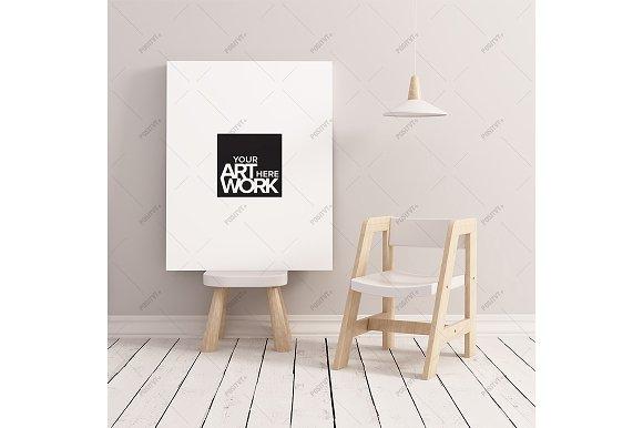 Download Canvas mockup minimalist nursery
