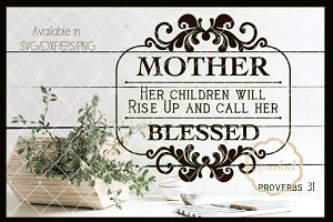 Mothers Day SVG Cutting file