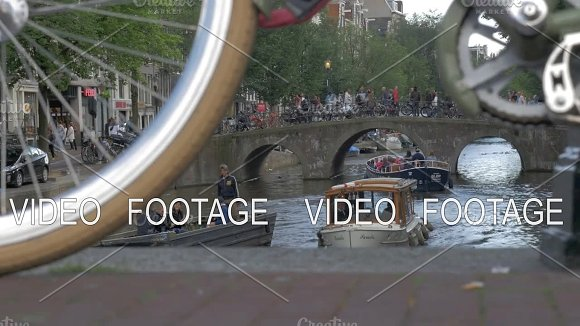 Amsterdam Is The City Of Bikes And Canals