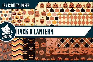 Halloween Jack o'lantern patterns