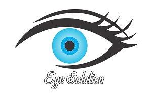Eye Solution Logo Type (CorelDraw)