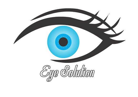 eye solution logo type coreldraw logo templates creative market