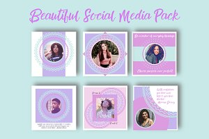 Beautiful Social Media Pack