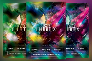 Dubstep Clubmix Flyer