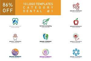 10 Logo Set - Dental