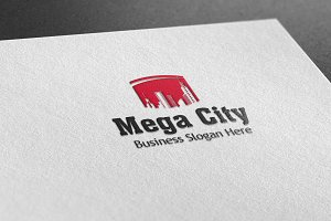 Mega City Style Logo
