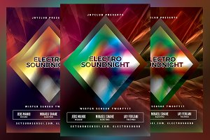 Electro Sound Night Flyer