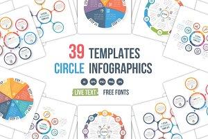 39 Circle Infographics Templates