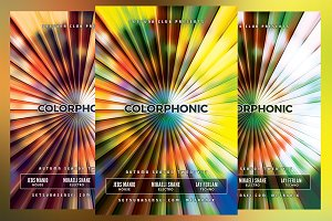 Colorphonic Club Flyer