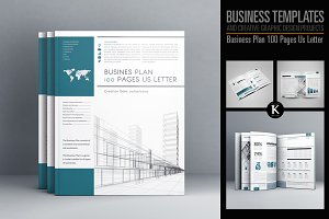 Business Plan 100 Pages Us Letter