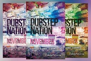Dubstep Nation Flyer
