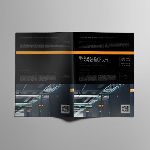 Business Plan Template 20P A4 in Templates - product preview 4