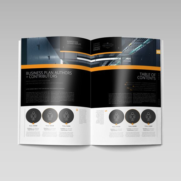 Business Plan Template 20P A4 in Templates - product preview 5