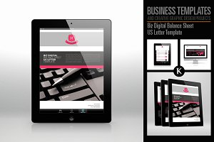 Biz Digital Balance Sheet US Letter
