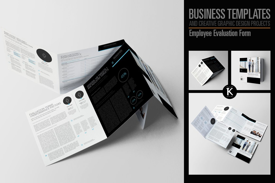 Employee Evaluation Form ~ Templates ~ Creative Market