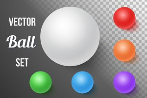 Vector Ball Sphere Set