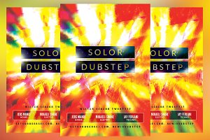Solor Dubstep Flyer
