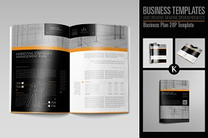 Business Plan 20P Template