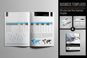 US Letter Cash Flow Statement