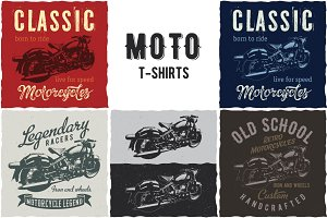 T-shirt Designs With Motorcycles