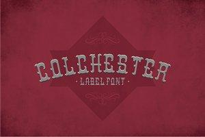 Colchester Label Typeface