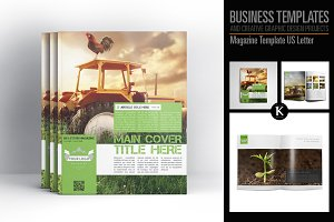 Magazine Template US Letter