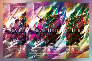 Sound Revolution Flyer