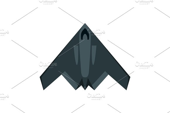 Military Airplane Isolated Aircraft Plane Vector