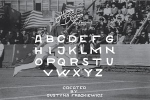 Delirium typeface