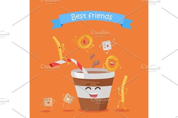 Best Friends Food Banner