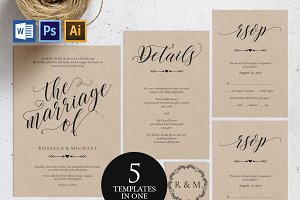 Wedding Invitation Template Wpc82