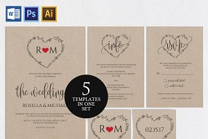 Wedding Invitation Template Wpc84
