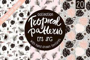 TROPICAL PATTERNS SET