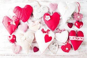 Valentine handmade heart