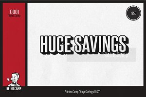 "Retro.Camp 0001 - ""HugeSavings 1950"""