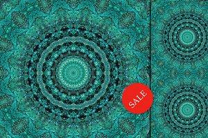 60% OFF SALE Kaleidoscope mandala