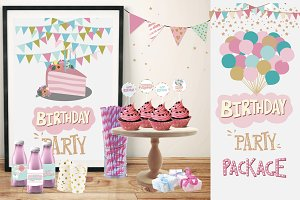 Big Birthday Party package