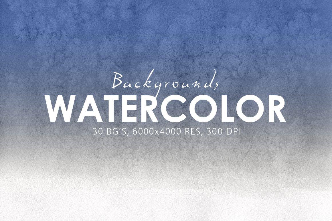 30 Watercolor Gradient Backgrounds ~ Textures ~ Creative Market